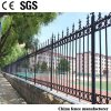 economic Easily Assembling Powder Coated Cast Ironl Decorative Outdoor Fencing for Garden