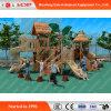 Popular Wooden Children Outdoor Play Slides (HD-MZ027)