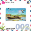Fashion Icon Epoxy Souvenir Design Refrigerator Postcard Door Retro Fridge Magnet Wholesale with Color Words