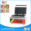 Stainless Steel Flower Donut Cake Making Machine Mini Donut Maker with Ce