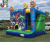 Giant Inflatable Jumping Bouncer Castle with Slide for Sale