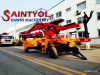 Mini Mobile Spider 13m 15m 17m Concrete Placing Boom for Building Reinforced Concrete Frame Buildings on Inner City Sites
