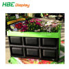 Durable Collapsible Plastic Crate for Logistic and Transport