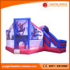 China Spider Man Jumping Moonwalk Bouncer with Slide Combo (T3-210)