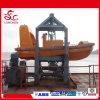Rigid Outboard Engine Rescue Boat with Davit
