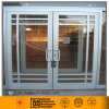 Aluminum Frame Swing Door with Grid Design (6063/6061)