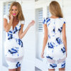Casual Dress Sexy Print Dress for Summer