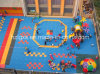 Colored Surface Rubber Flooring Mat for Playground