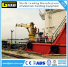 Hydraulic Telescopic Boom Marine Crane with ABS, BV, CCS Certificate