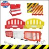 Removable Temporary Crowd Control Steel / Iron Road Safety Barrier