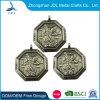 Antique Silver 3D Souvenir Marathon Run Medal with Ribbon Custom Wholesale Copper Stamping Sport Triathlon Award Medal (357)