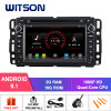 Witson Quad-Core Android 9.1 Car DVD GPS for Gmc Built in 16GB Inand Flash