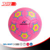 Shiny Pink Cute Design Machine Stitched Soccer Ball