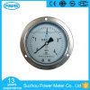 Commercial 100mm Chromeplated Steel Case Liquid Oil Pressure Gauge