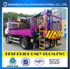 Customized Truck HOWO Cargo Tray Truck Well Drilling