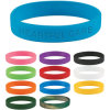 Filled Ink Silicone Wristband for Promotional