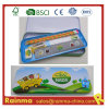 School Stationery Set in Metal Pencil Case
