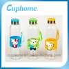 Eco-Friendly Cartoon Students Glass Bottle with Silicone Sleeve