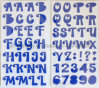 Big Alphabets Foam Stickers for Scrapbooking and Cardmaking