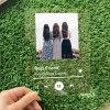 UV Printing Custom Acrylic Music Display Board Album Plaque