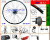 250W 350W 500W Front Wheel Brushless Motor Kit E Bike Electric Bicycke Scooter Kits