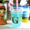 Wholesale Pet Disposable Plastic Cup for Drinking with Dome Lid