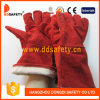 Ddsafety 2017 Red Cow Split Leather Weder Glove
