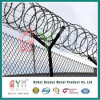 Y Post Airport Fence Security Prison Fence Razor Wire on Top