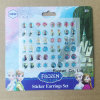 Frozen Jewelry Earring Sticker for Kids Earring Jewelry
