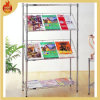 Good Quality Metal Magazine Wire Newspaper Rack