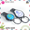 Metal Keychain with Nail Clipper Customized Logo for Promotional Gifts