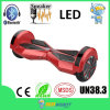Mini Smart Balance Electric Skateboard, Two Wheel Self Balancing Skateboard with LED Light, Blurtooth Speaker