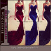 Fashion Women off-Shoulder Formal Long Prom Mermaid Evening Dress (TMKF138)