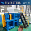 High Output New Design Plastic Film Double Shaft Shredder