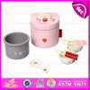 2015 New Arrival Wooden Rice Cooker Mini Furniture Toys, Popular Kitchen Rice Cooker Toy, Best Sale Children Kitchen Toy W10d017