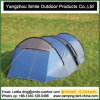 Popular European 6 Persons Camping Tunnel Family Tent