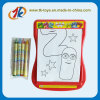 Kids Scrolling Drawig Board Toy Colorful Crayon