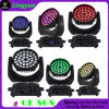 36X18W Rgbawuv Stage Disco LED Moving Head with Zoom