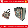 Promotional Plastic Die Cut Gift Carry Shopping Bag Wholesale