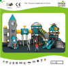 Kaiqi Medium Sized Cool Robot Themed Children′s Playground with Rocket! (KQ20074A)