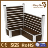 WPC Aluminium Wooden Fence Panel- Can Sit on The Boxes