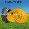 China Factory Direct Supply Forklift Tyre Rim (3.00D-8 4.00E-9)