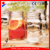 Drinking Mason Jar Logo Cheap Glass Mason Jars with Stem