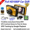 2017 New ID 2.7inch Car DVR GPS Tracking Car Dash Camera by Google Map Playback, GPS Logger Car Digital Video Recorder DVR-2708