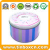 Bakery Food Packaging Box Round Metal Cake Tin