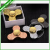 Aluminum Alloy Plastic ABS Copper Fidget Spinner for Toy