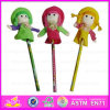 2015 New and Popular Wooden Pencil for Kids, Cute Mini Wooden Pencil for Promotion Gifts, Cheap Den Pencil for Children Wj277949