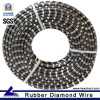 Premium Rubber Coated Diamond Rope for Stone Quarry