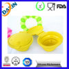 Wholesale Food Grade Customized Collapsible Silicone Pet Feeding Bowl