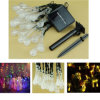 20 LED Solar Powered Water Drop String Lights LED Christmas Light